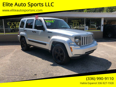 2012 Jeep Liberty for sale at Elite Auto Sports LLC in Wilkesboro NC
