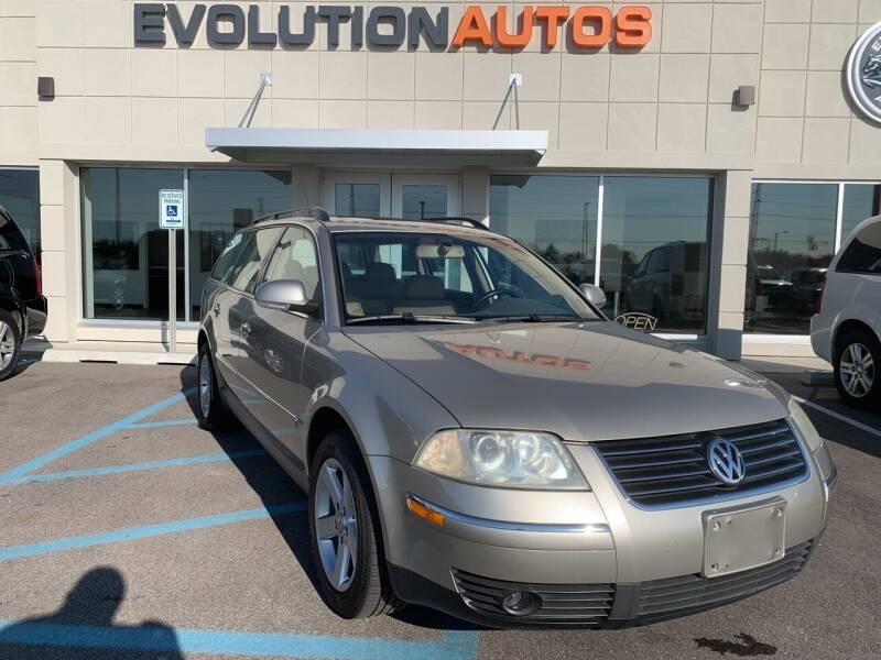 2004 Volkswagen Passat for sale at Evolution Autos in Whiteland IN