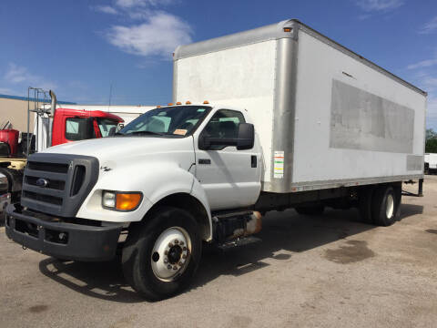 2013 Ford F-750 Super Duty for sale at BSA Used Cars in Pasadena TX