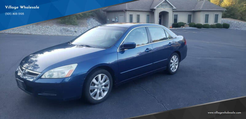 2006 Honda Accord for sale at Village Wholesale in Hot Springs Village AR