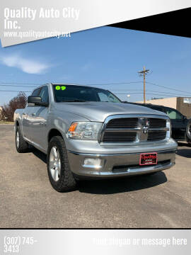 2009 Dodge Ram Pickup 1500 for sale at Quality Auto City Inc. in Laramie WY