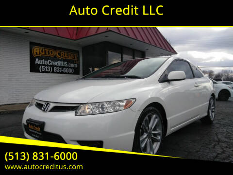2008 Honda Civic for sale at Auto Credit LLC in Milford OH