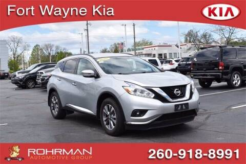 2016 Nissan Murano for sale at BOB ROHRMAN FORT WAYNE TOYOTA in Fort Wayne IN