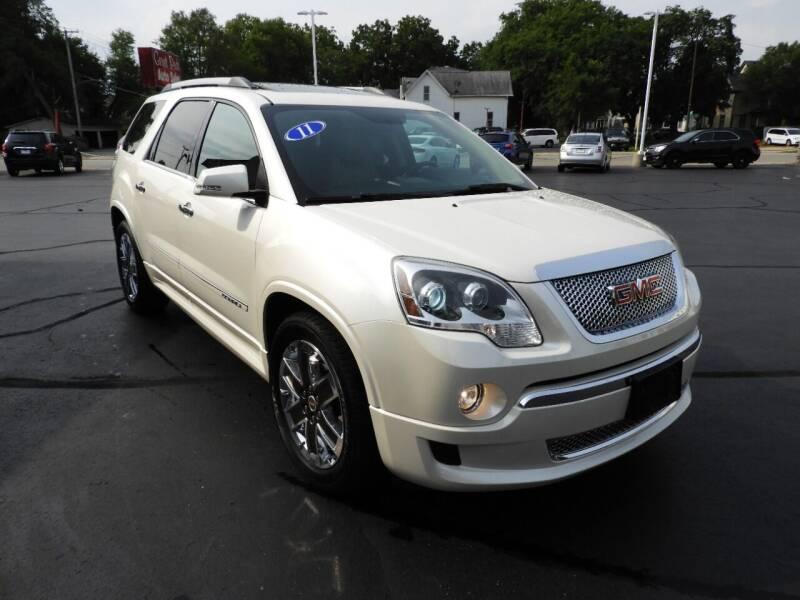 2011 GMC Acadia for sale at Grant Park Auto Sales in Rockford IL