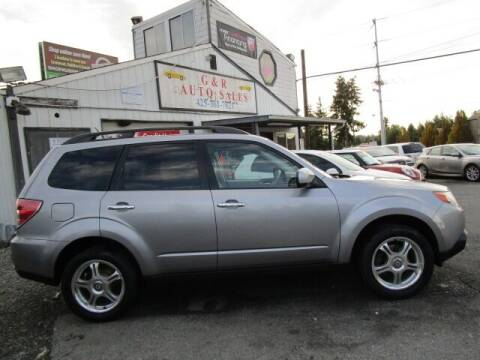 2011 Subaru Forester for sale at G&R Auto Sales in Lynnwood WA