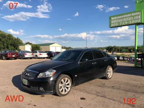 2007 Infiniti M35 for sale at Independent Auto in Belle Fourche SD