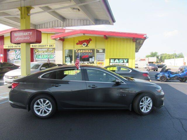 2017 Chevrolet Malibu for sale at Cardinal Motors in Fairfield OH