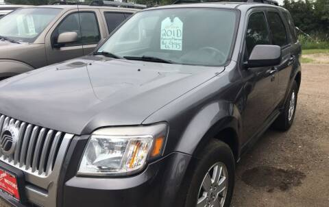 2010 Mercury Mariner for sale at BARNES AUTO SALES in Mandan ND