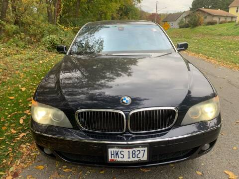 2008 BMW 7 Series for sale at Trocci's Auto Sales in West Pittsburg PA