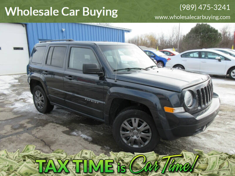2016 Jeep Patriot for sale at Wholesale Car Buying in Saginaw MI