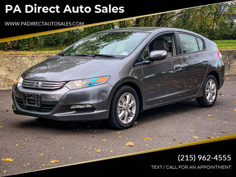 2011 Honda Insight for sale at PA Direct Auto Sales in Levittown PA