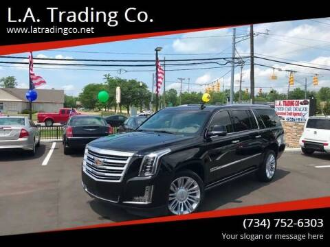 2015 Cadillac Escalade ESV for sale at L.A. Trading Co. in Woodhaven MI