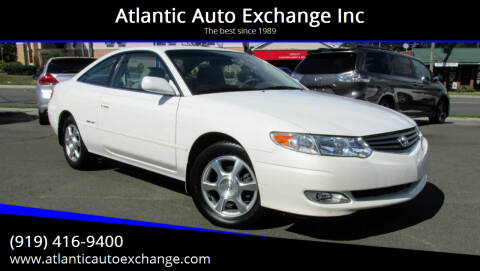 2002 Toyota Camry Solara for sale at Atlantic Auto Exchange Inc in Durham NC