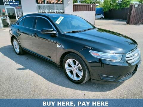 2013 Ford Taurus for sale at Stanley Automotive Finance Enterprise - STANLEY DIRECT AUTO in Mesquite TX