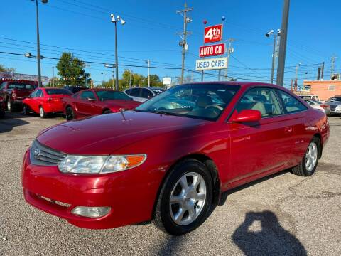 2002 Toyota Camry Solara for sale at 4th Street Auto in Louisville KY