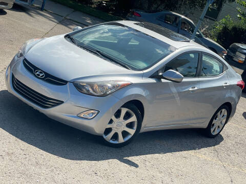 2012 Hyundai Elantra for sale at Exclusive Auto Group in Cleveland OH