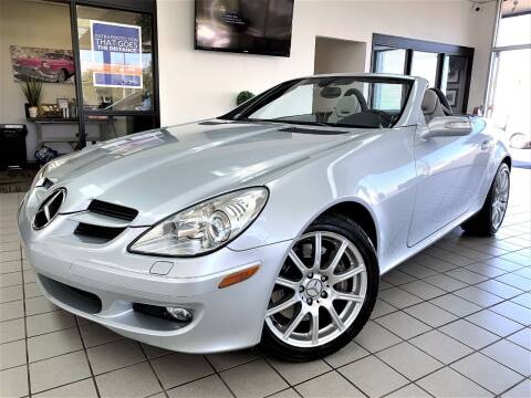2005 Mercedes-Benz SLK for sale at SAINT CHARLES MOTORCARS in Saint Charles IL