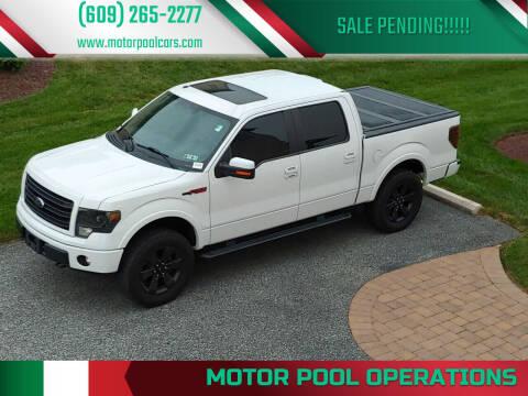 2014 Ford F-150 for sale at Motor Pool Operations in Hainesport NJ