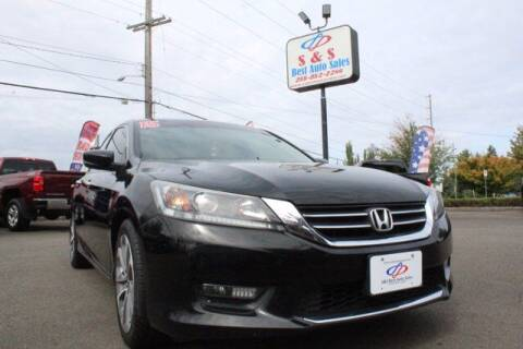 2015 Honda Accord for sale at S&S Best Auto Sales LLC in Auburn WA