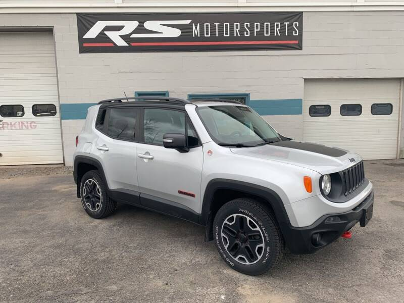 2015 Jeep Renegade for sale at RS Motorsports, Inc. in Canandaigua NY