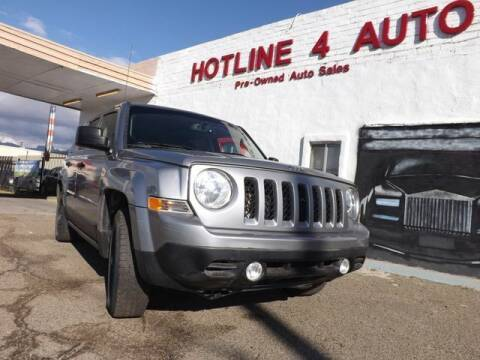 2016 Jeep Patriot for sale at Hotline 4 Auto in Tucson AZ