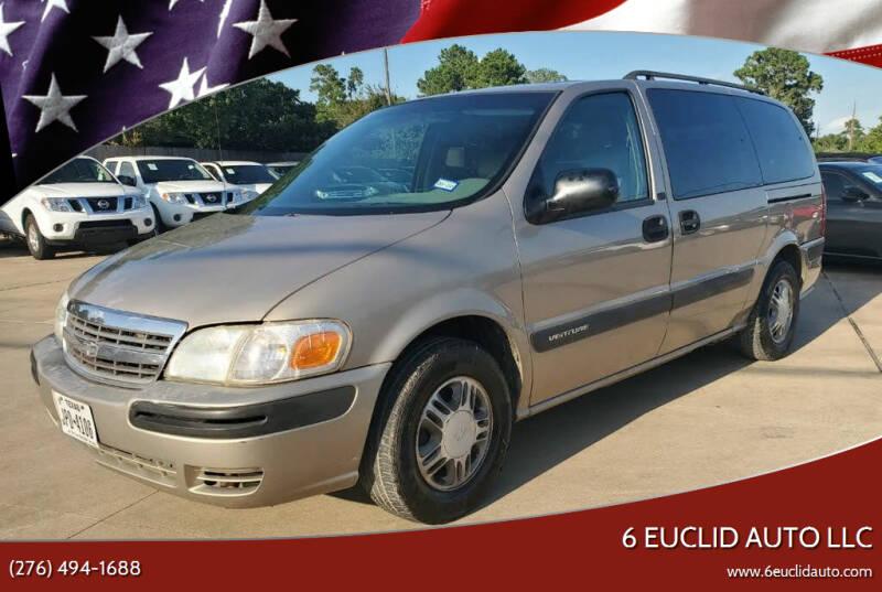 2004 Chevrolet Venture for sale at 6 Euclid Auto LLC in Bristol VA