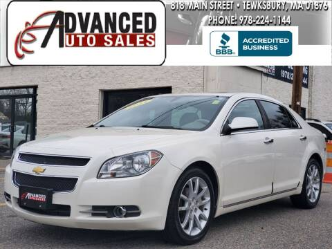 2011 Chevrolet Malibu for sale at Advanced Auto Sales in Tewksbury MA