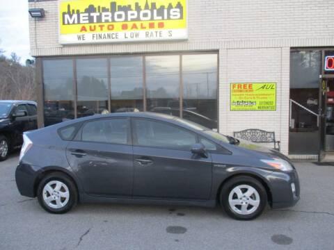 2010 Toyota Prius for sale at Metropolis Auto Sales in Pelham NH