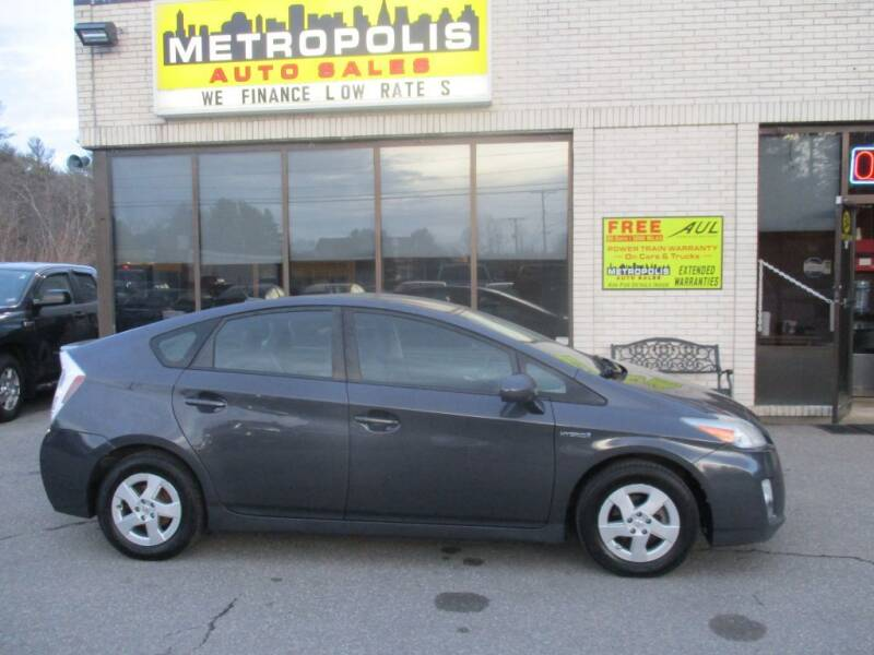 2010 Toyota Prius for sale at Metropolis Auto Sales in Pelham NH