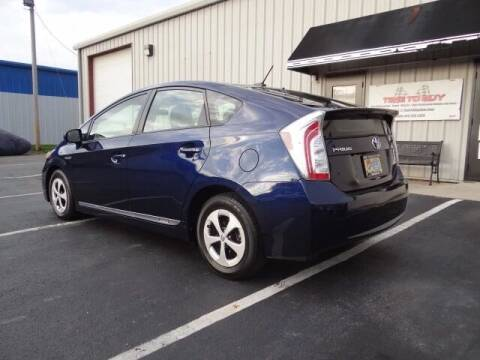 2013 Toyota Prius for sale at Time To Buy Auto in Baltimore OH