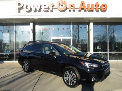 2019 Subaru Outback for sale at Power On Auto LLC in Monroe NC