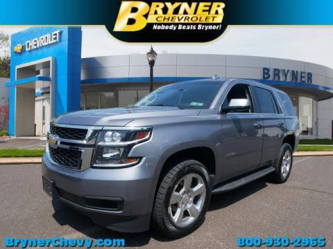 2018 Chevrolet Tahoe for sale at BRYNER CHEVROLET in Jenkintown PA