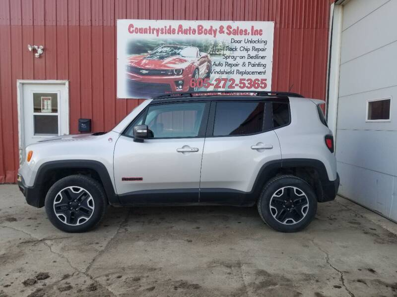 2016 Jeep Renegade for sale at Countryside Auto Body & Sales, Inc in Gary SD