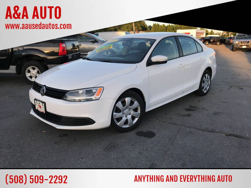 2012 Volkswagen Jetta for sale at A&A AUTO in Fairhaven MA