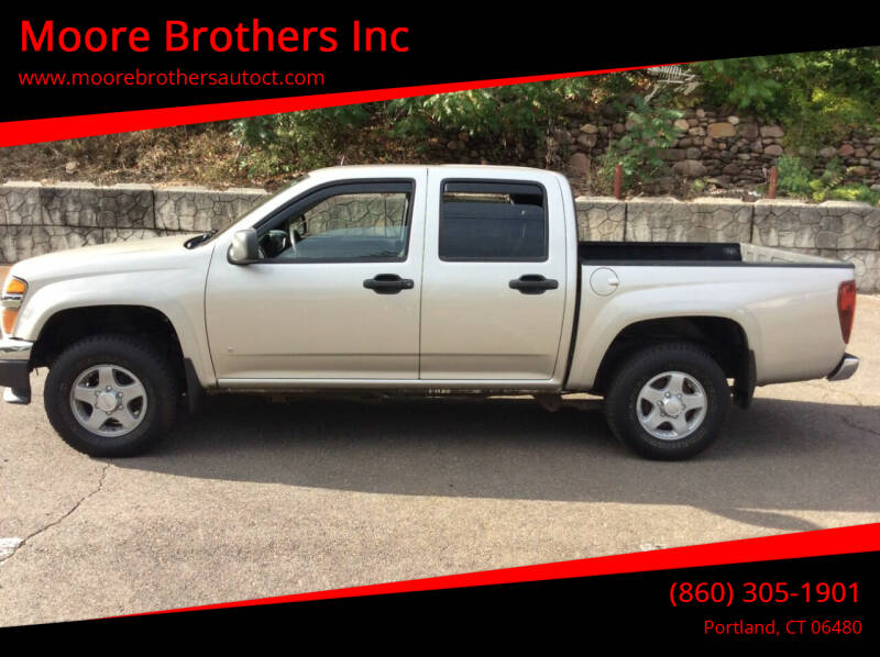 2008 GMC Canyon for sale at Moore Brothers Inc in Portland CT