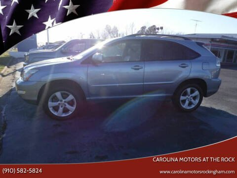 2007 Lexus RX 350 for sale at Carolina Motors at the Rock in Rockingham NC