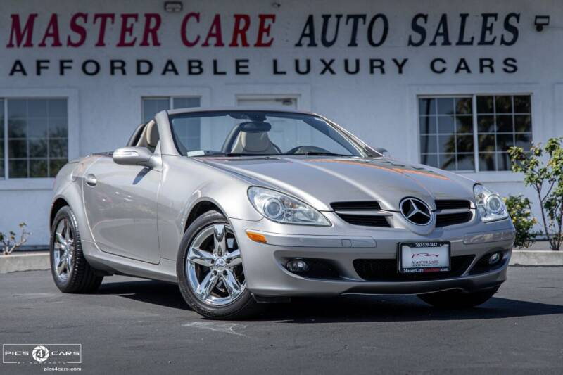2007 Mercedes-Benz SLK for sale at Mastercare Auto Sales in San Marcos CA
