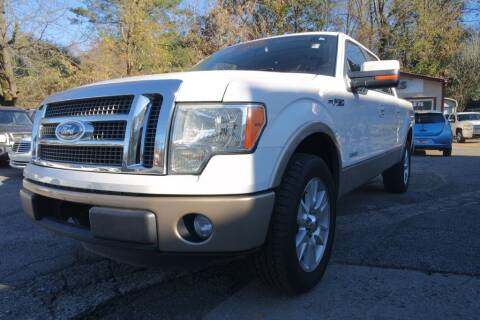 2011 Ford F-150 for sale at E-Motorworks in Roswell GA