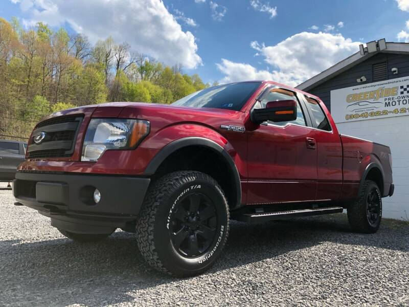 2013 Ford F-150 for sale at Creekside PreOwned Motors LLC in Morgantown WV