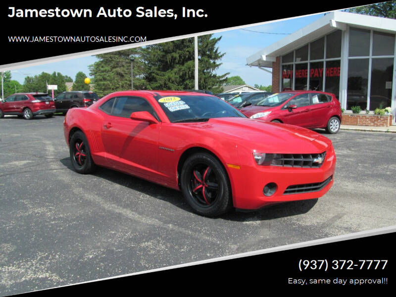 2012 Chevrolet Camaro for sale at Jamestown Auto Sales, Inc. in Xenia OH