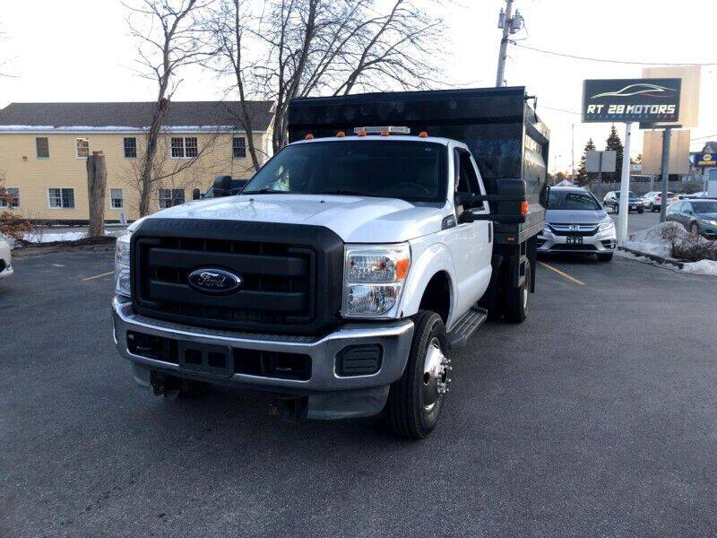 2012 Ford F-350 Super Duty for sale at RT28 Motors in North Reading MA