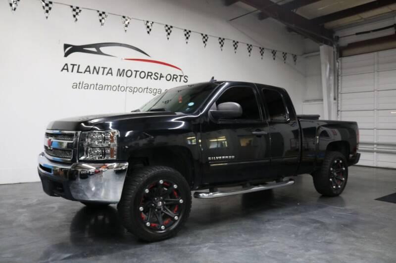 2013 Chevrolet Silverado 1500 for sale at Atlanta Motorsports in Roswell GA