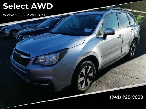2017 Subaru Forester for sale at Select AWD in Provo UT