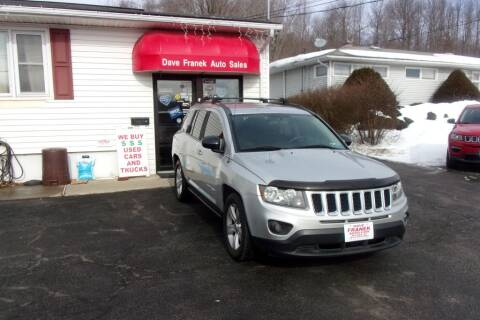 2014 Jeep Compass for sale at Dave Franek Automotive in Wantage NJ