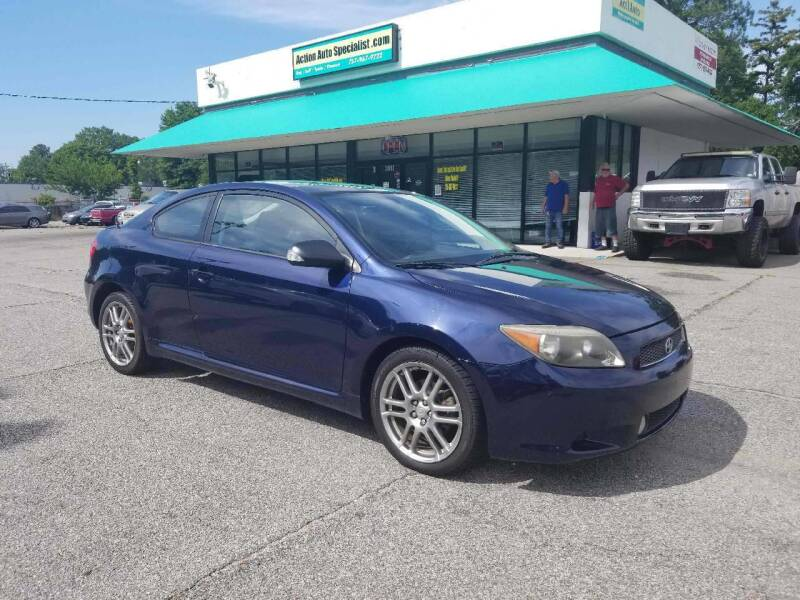 2007 Scion tC for sale at Action Auto Specialist in Norfolk VA