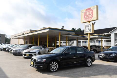 2014 Audi A4 for sale at Houston Used Auto Sales in Houston TX