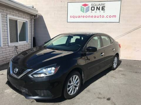 2018 Nissan Sentra for sale at SQUARE ONE AUTO LLC in Murray UT