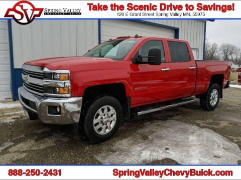2015 Chevrolet Silverado 2500HD for sale at Spring Valley Chevrolet Buick in Spring Valley MN