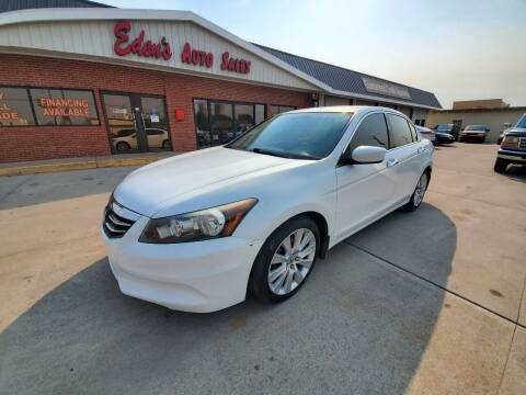 2012 Honda Accord for sale at Eden's Auto Sales in Valley Center KS