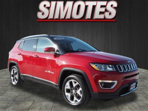 2019 Jeep Compass for sale at SIMOTES MOTORS in Minooka IL